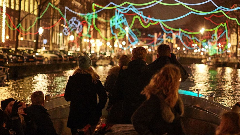 Light Festival 2020.Amsterdam Light Festival 2019 2020 Amsterdam Boat Center